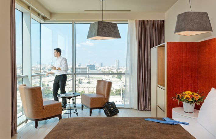 חדר דה לקס בבית מלון