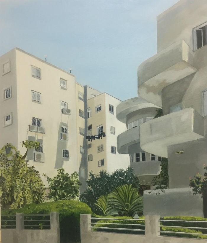 זהר פלקס - Tel Aviv_ White city III