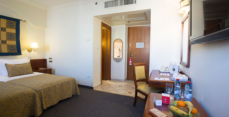 חדר דלקס עם מרפסת