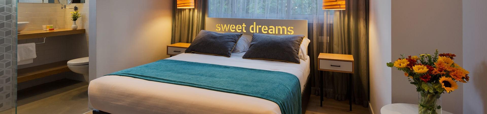 חדר דלקס במלון סיטי