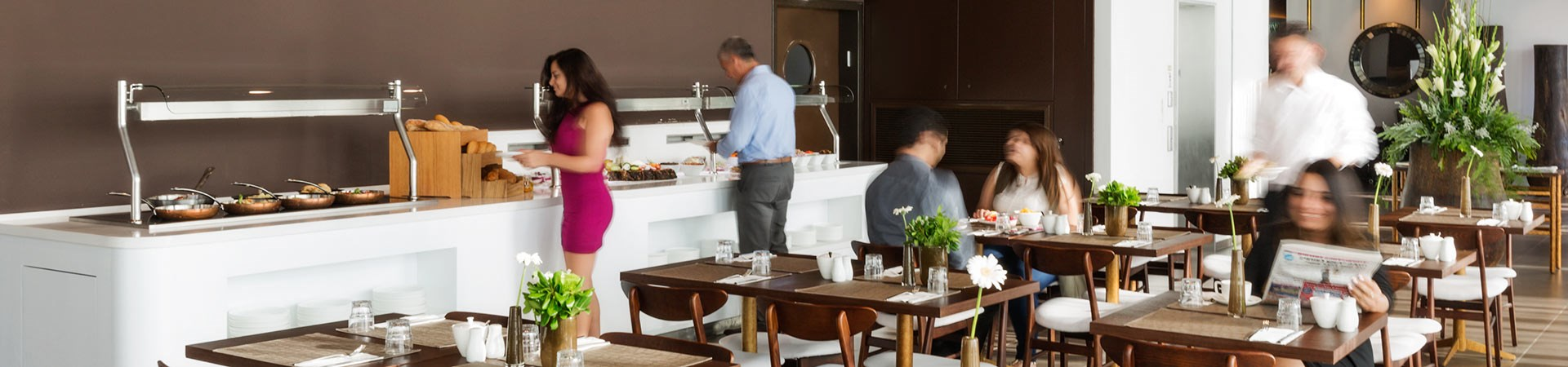 פרימה לינק - חדר אוכל